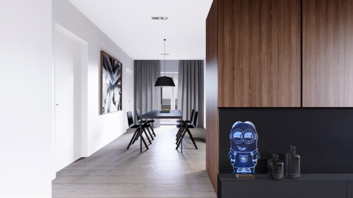 matte-black-and-dark-wood-cabinetry